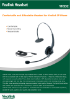Picture of Yealink YHS32 Call Center Headset