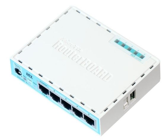 Picture of MikroTik hEX Ethernet Router RB750Gr3
