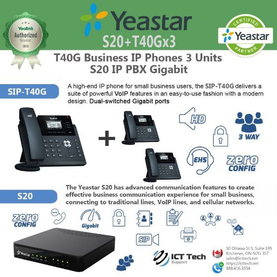 Picture of ICTT40Gx3S20 - T40G x 3 System Bundle