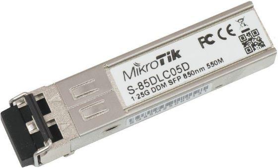 Picture of MikroTik S-85DLC05D SFP (1.25G) module, 550m, Multi Mode