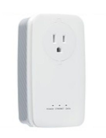 Picture of SmartRG PL60 HomePlug (Powerline) AV2 adapater, 1 x Gigabit Ethernet
